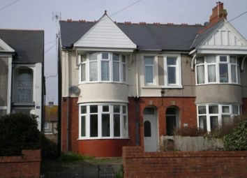 Thumbnail 2 bed flat to rent in Bridgend Road, Porthcawl