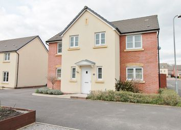 Thumbnail 4 bedroom detached house for sale in Maplewood, Langstone, Newport