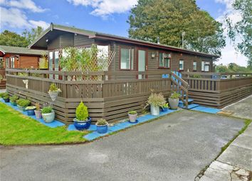 Thumbnail 3 bed mobile/park home for sale in Vinnetrow Road, Runcton, Chichester, West Sussex