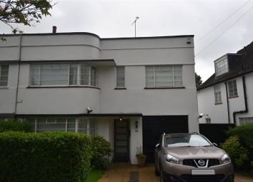 Thumbnail 4 bed semi-detached house to rent in Vivian Way, London