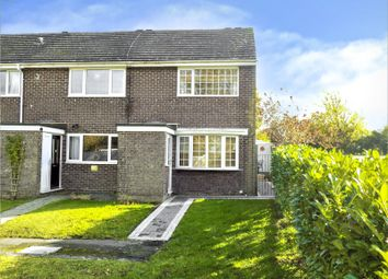 Thumbnail 2 bed end terrace house for sale in Lucerne Close, Royal Wootton Bassett, Swindon