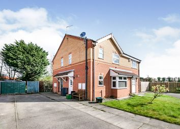 Thumbnail 1 bed end terrace house for sale in St James Close, York, North Yorkshire