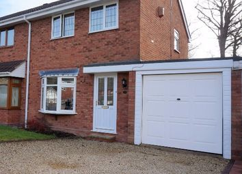 Thumbnail 3 bedroom semi-detached house for sale in Forge Valley Way, Wombourne, Wolverhampton