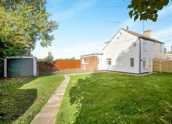Thumbnail 2 bed semi-detached house for sale in Fridaybridge Road, Elm, Wisbech