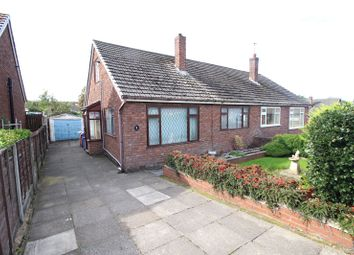 Thumbnail 2 bed semi-detached bungalow for sale in Parren Avenue, Whiston, Prescot, Merseyside
