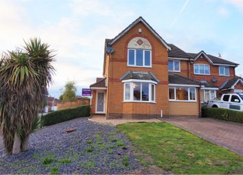 Thumbnail 4 bed detached house for sale in Abbey Lodge Close, Swadlincote