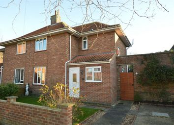 Thumbnail 2 bedroom semi-detached house for sale in Milton Close, Norwich