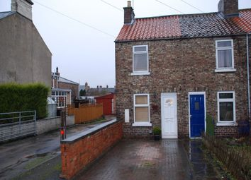 Thumbnail 2 bedroom end terrace house to rent in Langton Road, Norton, Malton