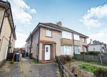 Thumbnail 3 bedroom flat for sale in South Farm Road, Broadwater, Worthing