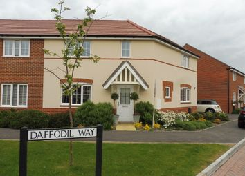 Thumbnail 3 bed semi-detached house for sale in Daffodil Way, Havant