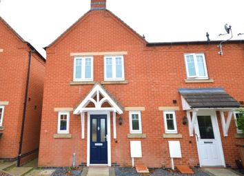 Thumbnail 3 bed terraced house to rent in Moray Close, Church Gresley, Swadlincote