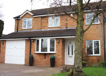 Thumbnail 4 bed detached house for sale in Hanwell Close, Sutton Coldfield