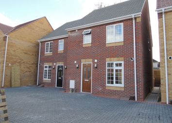 Thumbnail 3 bed semi-detached house to rent in Dudley Gardens, Poole