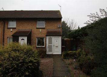 Thumbnail 2 bed end terrace house for sale in Kelso Court, Peterborough