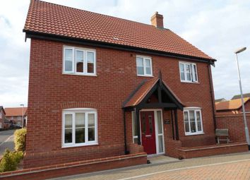 Thumbnail 4 bed detached house for sale in Neptune Close, Bradwell, Great Yarmouth
