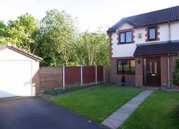 Thumbnail 3 bed semi-detached house to rent in Springsands Close, Fulwood, Preston