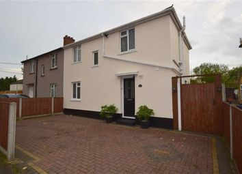 Thumbnail 3 bed semi-detached house for sale in Church Crescent, South Ockendon, Essex