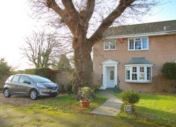3 bed semi-detached house for sale in Saracen Close, Pennington, Lymington, Hampshire SO41