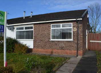 Thumbnail 2 bed bungalow for sale in Oakdene Avenue, Woolston, Warrington