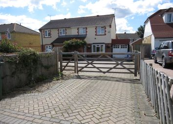 Thumbnail 3 bedroom semi-detached house for sale in School Lane, Iwade, Sittingbourne