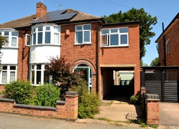 Thumbnail 4 bed semi-detached house for sale in Cairnsford Road, West Knighton, Leicester