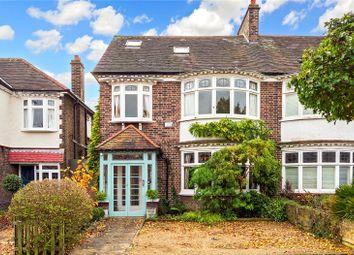 Thumbnail 6 bed semi-detached house for sale in Walpole Avenue, Kew, Surrey