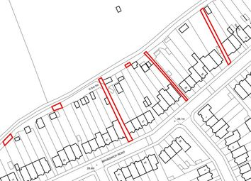 Thumbnail Land for sale in Brunswick Road, London