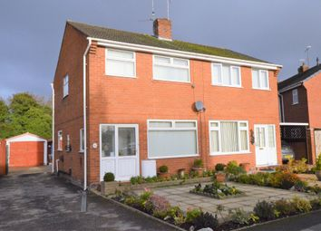 Thumbnail 2 bedroom semi-detached house for sale in Finchett Drive, Chester