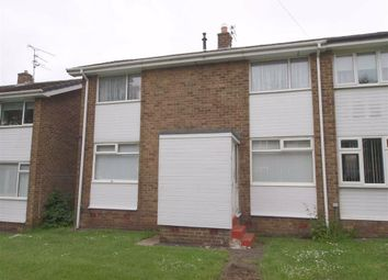 Thumbnail 2 bed end terrace house to rent in Thornley Avenue, Cramlington