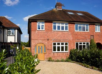 Thumbnail 3 bed semi-detached house for sale in Chobham Road, Sunningdale, Ascot