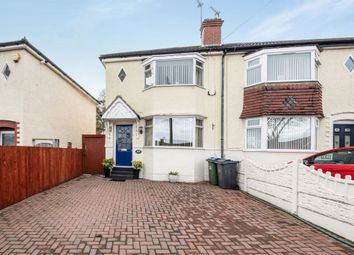 Thumbnail 2 bedroom semi-detached house for sale in Witton Lane, West Bromwich