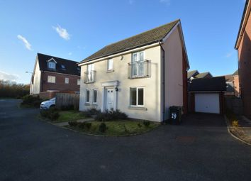 Thumbnail 4 bed detached house for sale in Coronach Close, Queens Hill, Norwich