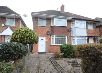 Thumbnail 3 bed semi-detached house for sale in Hodge Hill Road, Hodge Hill, Birmingham