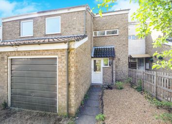 Thumbnail 3 bed terraced house for sale in Edith Cavell Close, Thetford