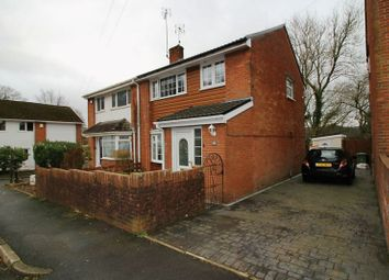 Thumbnail 3 bed semi-detached house for sale in Dan-Yr-Allt Close, Rhydyfelin, Pontypridd