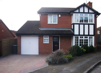 Thumbnail 4 bed detached house to rent in Frosty Hollow, Northampton, Northamptonshire