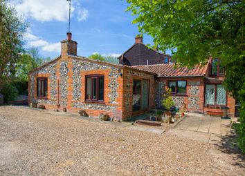 Thumbnail Semi-detached house for sale in Norfolk, Bawdeswell, Near Dereham Equestrian