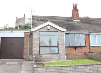 Thumbnail 3 bed semi-detached bungalow for sale in North Street, Kirkby-In-Ashfield, Nottingham