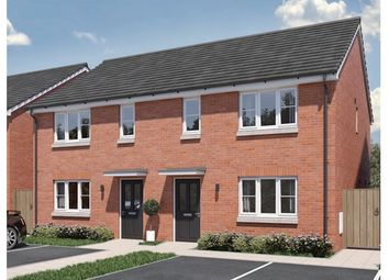 Thumbnail 3 bed semi-detached house for sale in Hedgehog Close, Melton Mowbray