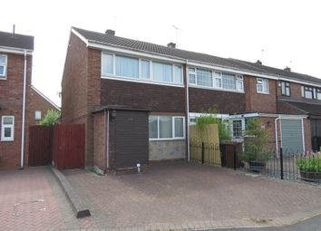 Thumbnail 3 bed semi-detached house for sale in Priorylands, Stretton, Burton-On-Trent
