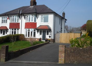 Thumbnail 3 bed semi-detached house for sale in Station Road, Ystradgynlais, Swansea