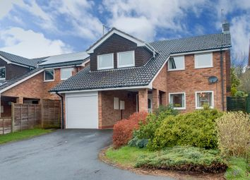 Thumbnail 4 bed detached house for sale in Lechlade Close, Redditch