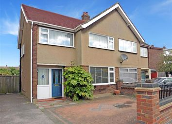 Thumbnail 3 bed semi-detached house for sale in Essex Gardens, Hornchurch, Essex