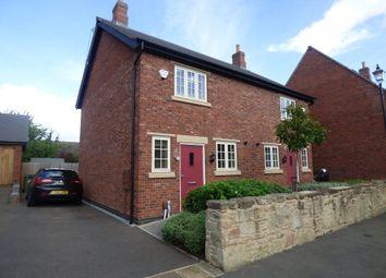 Thumbnail 2 bed semi-detached house to rent in De Lacy, Towles Pastures, Castle Donington, Derby