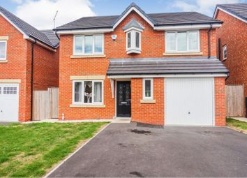 Thumbnail 4 bedroom detached house for sale in Paddock Close, Blackpool