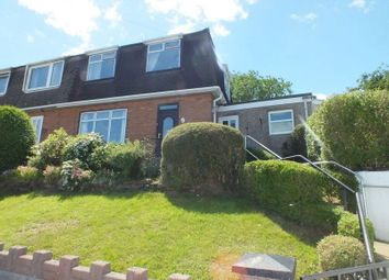 Thumbnail 3 bed semi-detached house for sale in Cripps Avenue, Cefn Golau, Tredegar