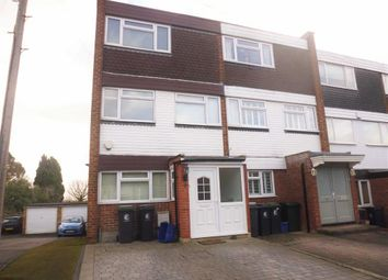 Thumbnail 4 bed end terrace house to rent in Andrews Close, Buckhurst Hill, Essex