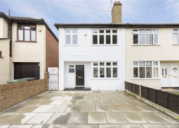 Thumbnail 3 bed semi-detached house for sale in Link Way, Hornchurch