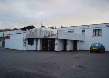 Thumbnail Commercial property for sale in Tall Trees Nightclub, Tolcarne, Newquay