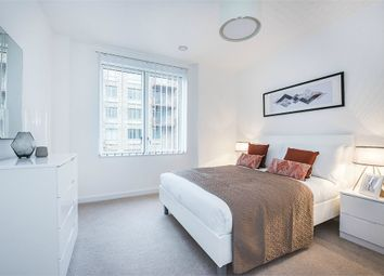 Thumbnail 3 bedroom flat to rent in Samuel Building, Shackleton Way, London